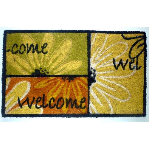 Welcome CBlocks Doormat