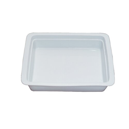 Oblong 2 / 3 Porcelain Food Pan