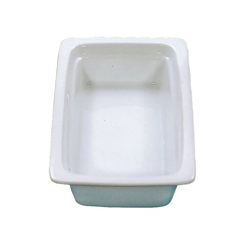 2-qt. Porcelain Oblong Food Pan