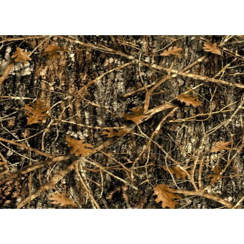 Custom Printed Rugs Concealed Brown Camo Door Mat