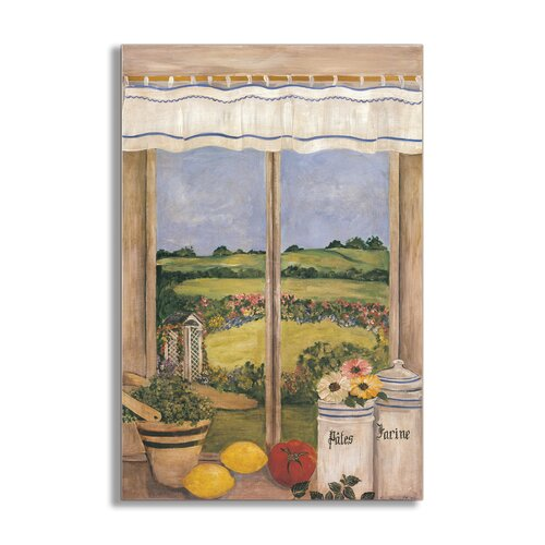 Tuscan Kitchen Painting Print Plaque