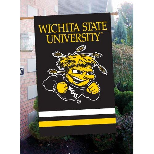 The Party Animal, Inc NCAA Appliqué House Flag