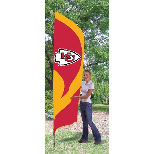 The Party Animal, Inc Tall NFL Team Flag