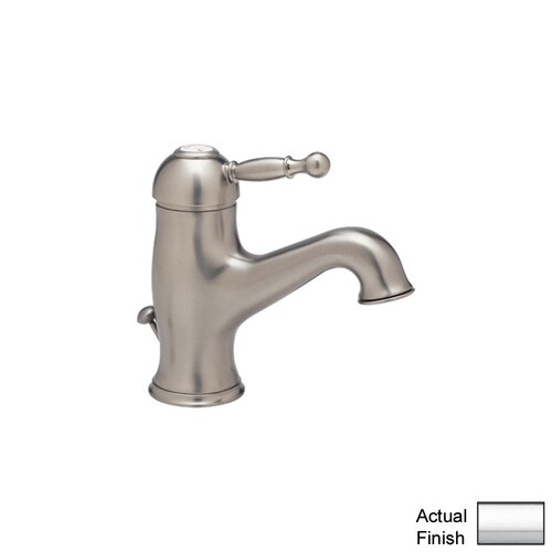 Cisal Single Handle Bathroom Faucet with Lever Handle and Pop-Up Drain