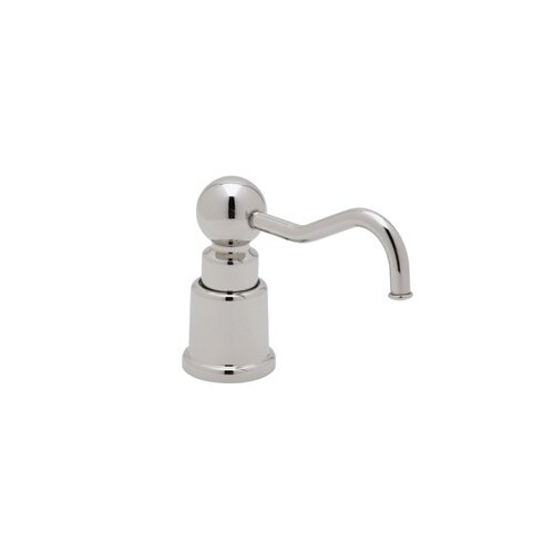 "Rohl Soap/Lotion Dispenser with 3.5"" Reach and One Touch System"