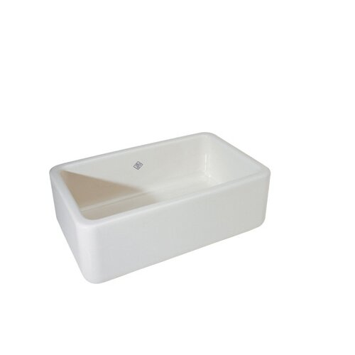Rohl Single-Bowl Fireclay Apron Sink