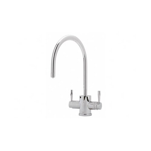 Perrin and Rowe Two Handle Single Hole Filtration 2-Lever Bar Faucet with
