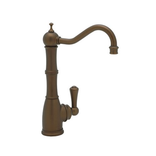 Perrin and Rowe One Handle Single Hole Bar Faucet with Column Spout