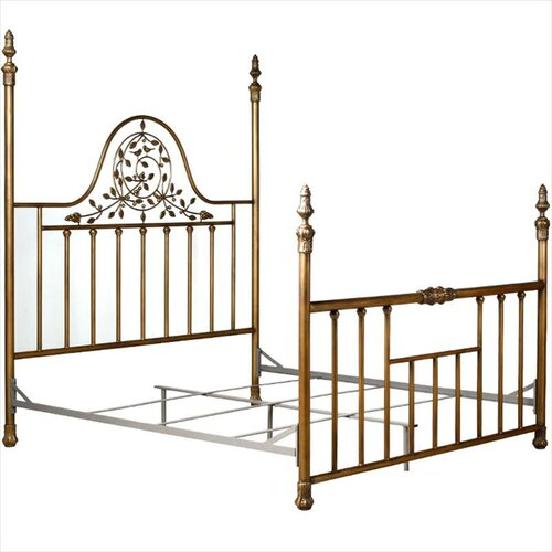 Used king size four poster bed for sale