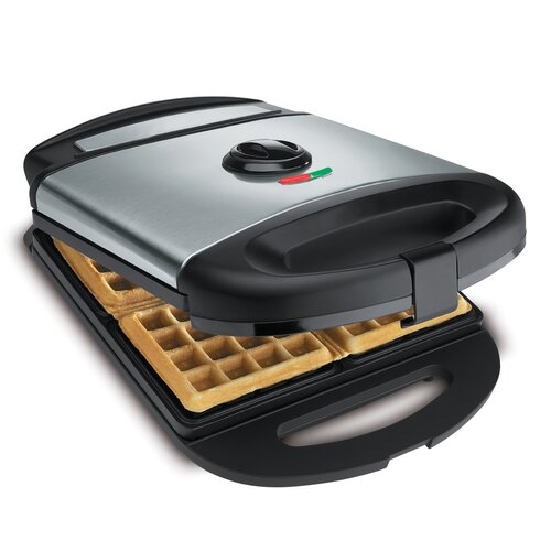 CucinaPro Classic 4 Square Belgian Waffler