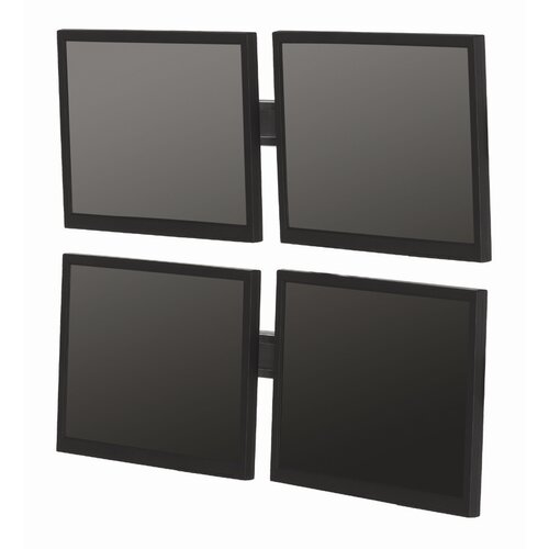 "Bretford Manufacturing Inc Double-Level Multiple Displays Tilt Universal Wall Mount for up to 22"" LCD"