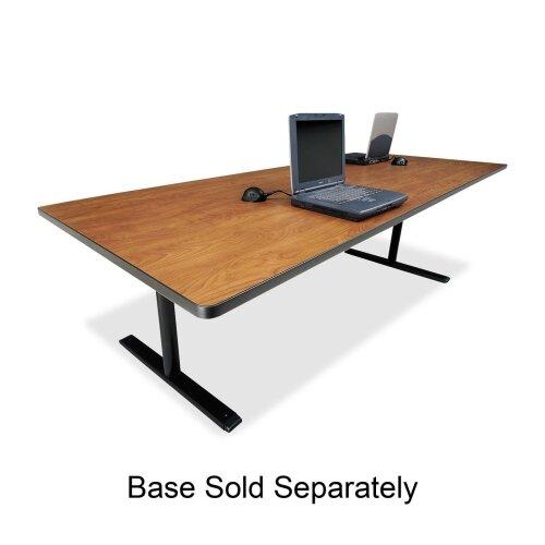 "Bretford Manufacturing Inc Rectangular Conference Table,42""x120""x29"",Wild Cherry"