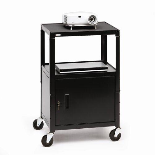 Bretford Manufacturing Inc UL Listed Adjustable Cabinet Cart