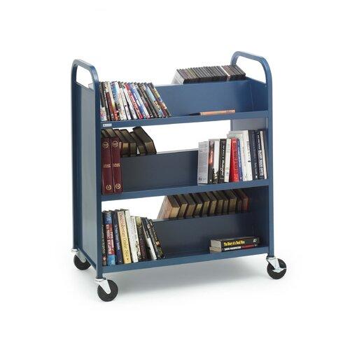Bretford Manufacturing Inc Metal Double-Side Booktruck