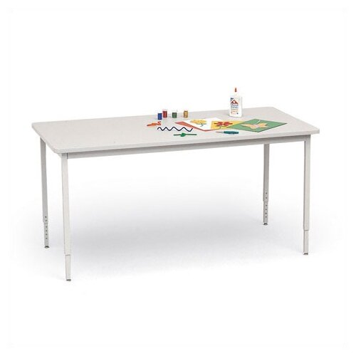 """Bretford Manufacturing Inc Quattro 60"""" Wide Rectangle Work and Utility Table"""