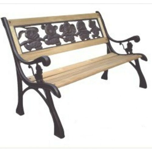 Dc America Friendship Kids Wood And Cast Iron Park Bench Reviews Wayfair