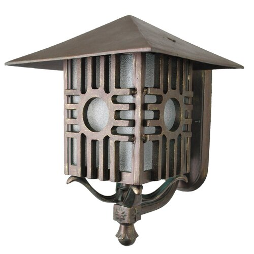 Melissa Lighting Americana Zia Series Wall Lantern