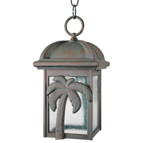 "Melissa Lighting Americana Palm Tree Series 1 Light 12"" Hanging Lantern"