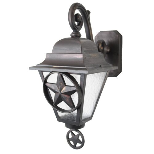 Melissa Lighting Americana Lone Star Series Wall Lantern