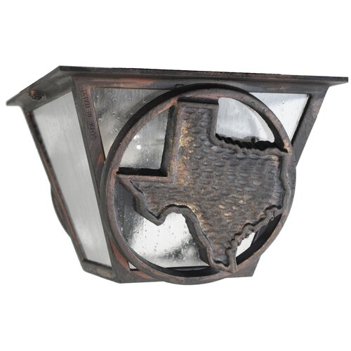 Melissa Lighting Americana Lone Star Series Flush Mount