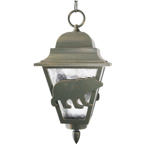 "Melissa Lighting Americana Bear Series 1 Light 16"" Hanging Lantern"