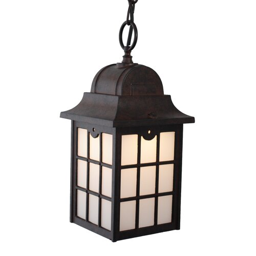 Kiss Series LED Outdoor Hanging Lantern Wayfair