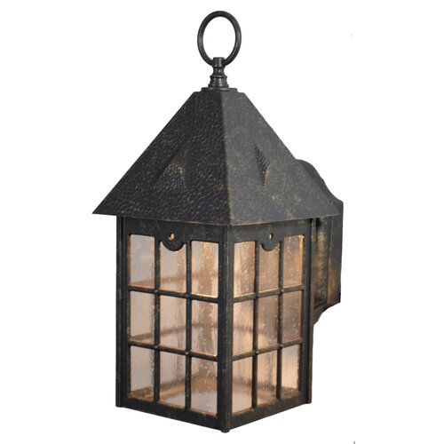 Melissa Kiss Series 1 Light Outdoor Wall Lighting Reviews Wayfair