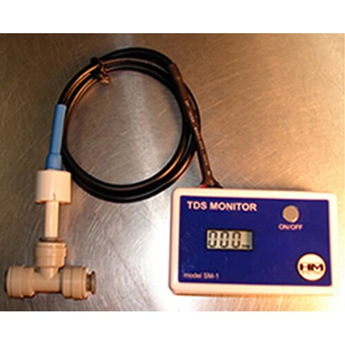 HM Digital Meters SM-1 In-Line TDS Monitor for Single Water Line