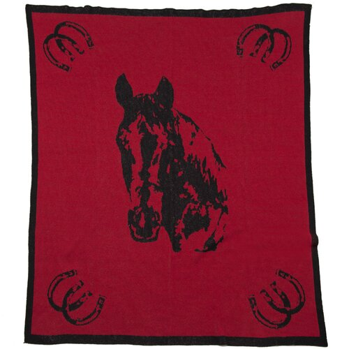 Eco Designer Horse Throw Blanket