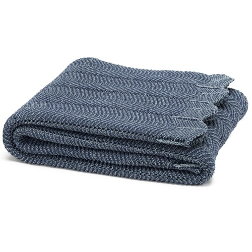 Eco Designer Pointelle Throw Blanket
