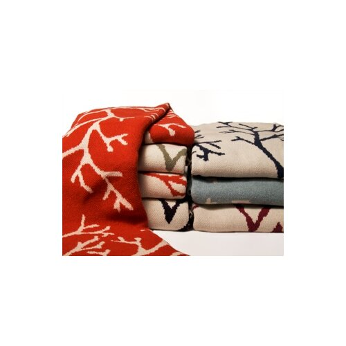 Eco Coral Throw Blanket