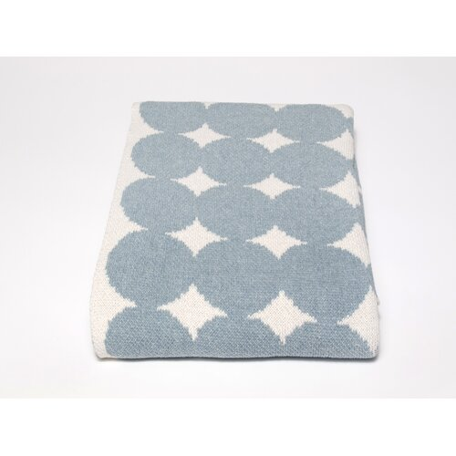 Eco Big Dots Cotton Yarn Throw