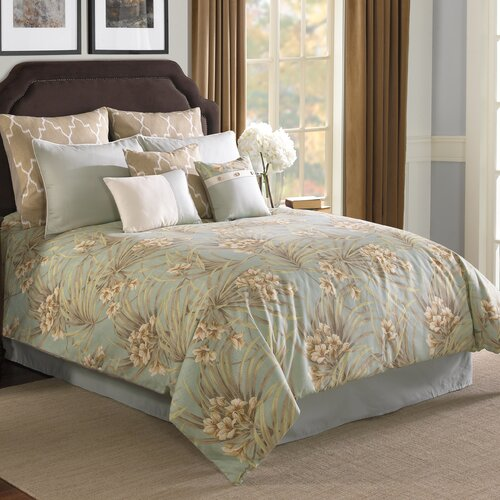 Hallmart Collectibles St. Lucia Comforter Set