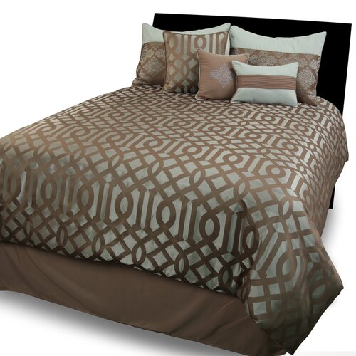 Hallmart Collectibles Geo 5 Piece Comforter Set
