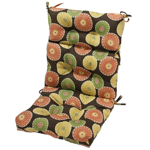 Greendale Home Fashions High Back Chair Cushion