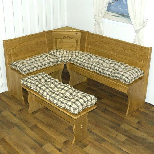 Greendale Home Fashions Nook Applegate Plaid Cushion Set