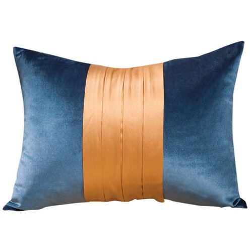 Fusion Decorative Pillow with Wide Braid