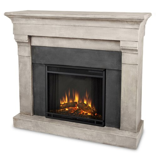 Torrence Cast Mantel Electric Fireplace