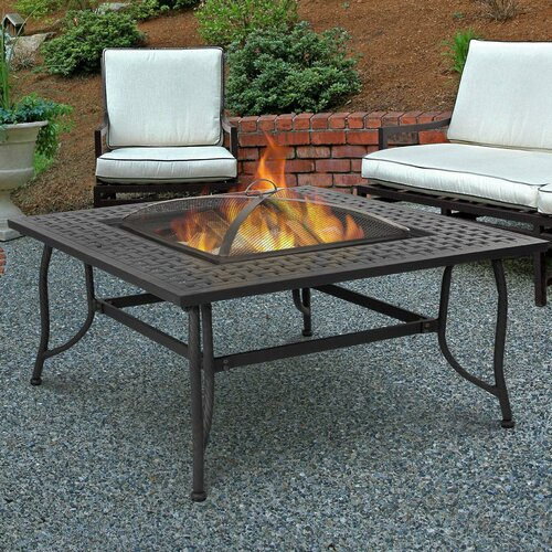 Chelsea Wood Burning Fire Table