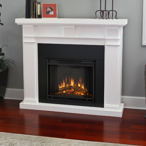 Real flame porter electric fireplace reviews wayfair for Decor flame electric fireplace