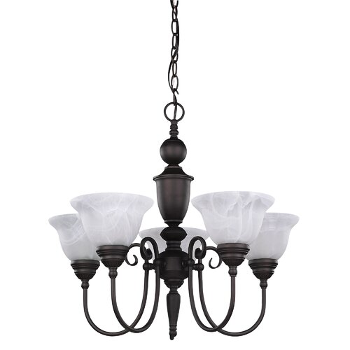 Canarm Julianna 5 Light Chandelier