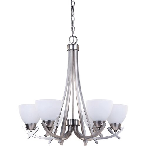 Canarm Paris 6 Light Chandelier
