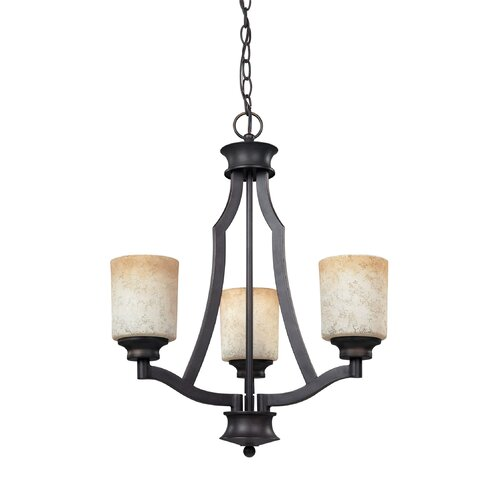 Canarm Warren 3 Light Chandelier