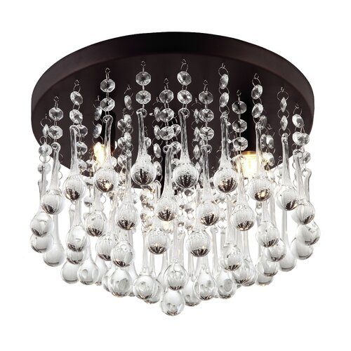 Canarm Daya 3 Light Flush Mount