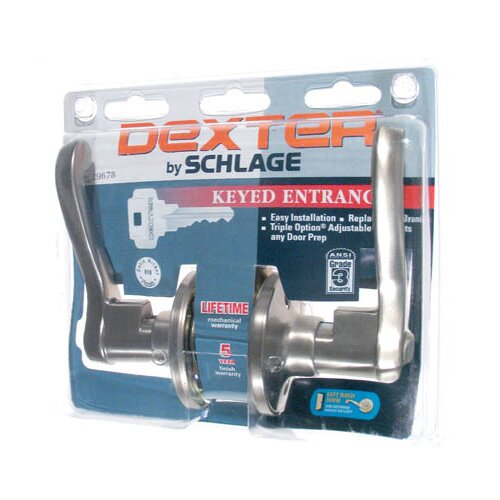 Schlage LaSalle Keyed Entry Levers