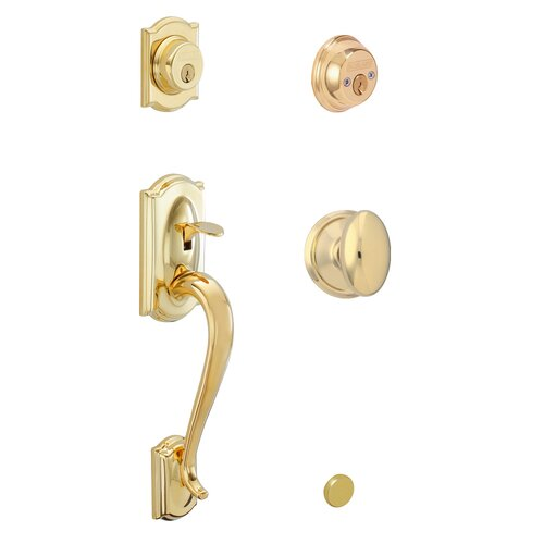 Schlage Siena Camelot Double Cylinder Handle Set