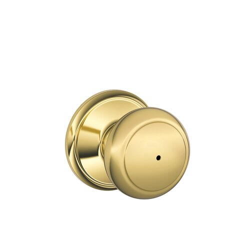 Schlage Andover Bed and Bath Knob