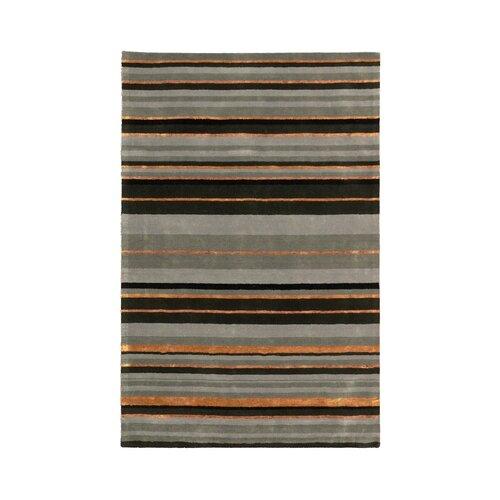 MevaRugs Ashlee Grey Stripe Rug
