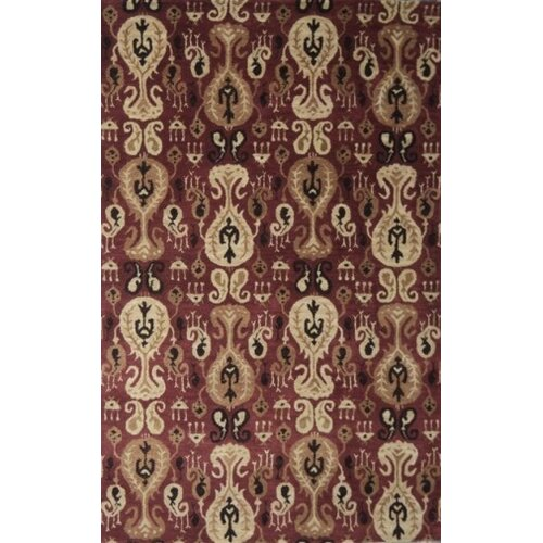 MevaRugs Belize Red Rug