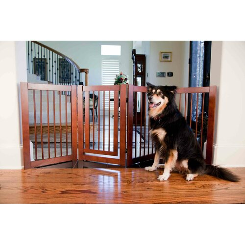 Configurable 360 Z-Fold Pet Gate